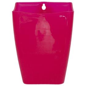 Cachepô para jardim vertical rosa