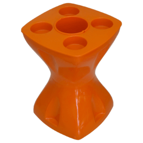 Mesa-banqueta multiuso laranja