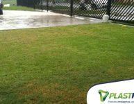 Permeabilidade do solo em áreas externas.