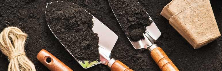 Preparação do solo para plantio