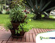 Vasos empilháveis: dicas do que plantar